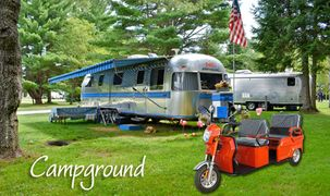 campgrounds and trailer parks, a great alternative to golf carts