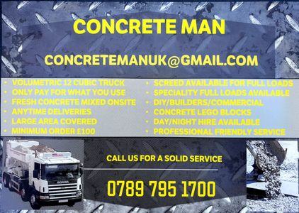 volumetric concrete,Oxfordshire, Wiltshire,Gloucestershire,24hr 7 days wk,day/night hire,small load