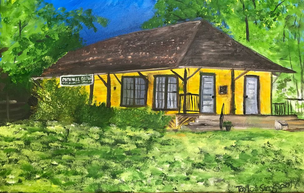 Mitchell Depot by Miss Taylor Sinns, 2017