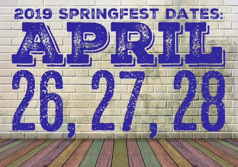 For updated information, visit the Mitchell Springfest Facebook page!
