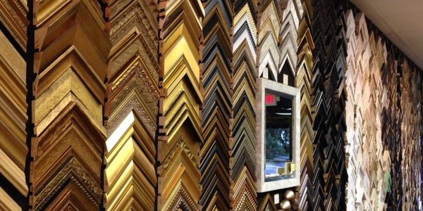 1000's of picture frames and moldings. large selection to fit any budget