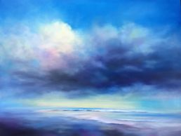 Nancy Hughes Miller, UGallery.com artist, paints Contemporary Coastal Landscapes paintings