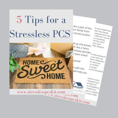 5 Tips for a Stressless PCS