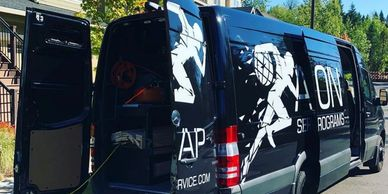Action Services and Programs Sprinter Van.