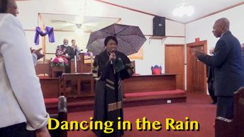 Dance in the Rain - Matthew 14:29-33 - Rev Dr Kay M Hines at Cottonville AME Zion Church