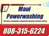 Maui Powerwashing