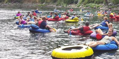 Group events, floating, things to do in Leavenworth