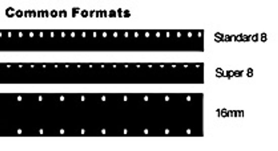 Common Film Formats