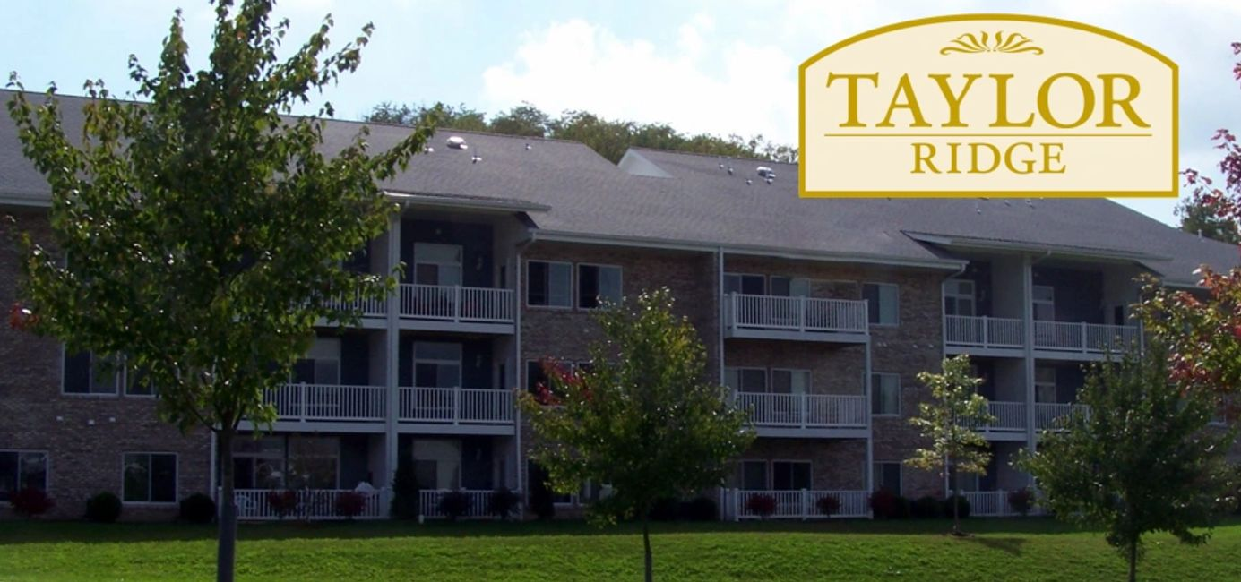 Taylor Ridge Apartments view of patios & balconies