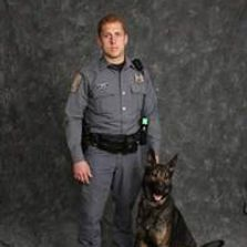 Silver Spring Township Police Department K-9 Bruder and Handler Officer Jenkins.