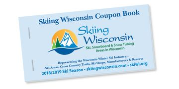 Cover of Skiing Wisconsin Coupon Book