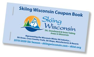Skiing Wisconsin Coupon Book Cover