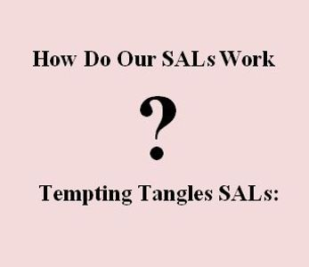 All about Tempting Tangles Cross Stitch Alongs (SAL)