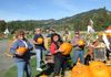 Selecting Pumpkins for the carving contest, Oct. 2013 Outing, Pershastin/Leavenworth, WA.