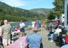 Social Hour along the Chetco River, Sept. 2008, Brookings, OR.