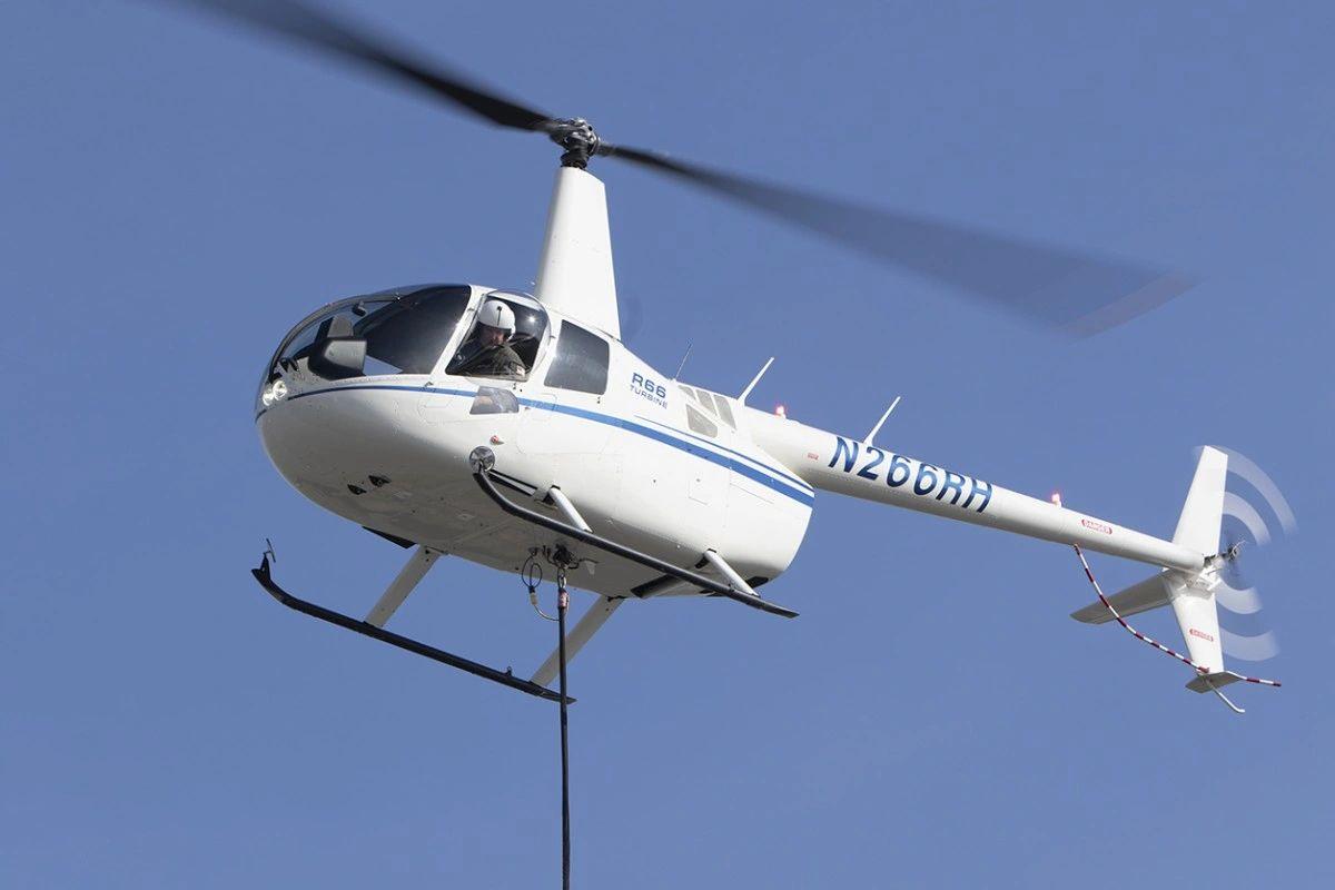 FAA Approves Robinson R66 Cargo Hook