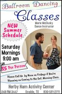New Summer Schedule: Saturday Mornings at 9:00 am. $5/per person.  Please call HHAC offices by noon