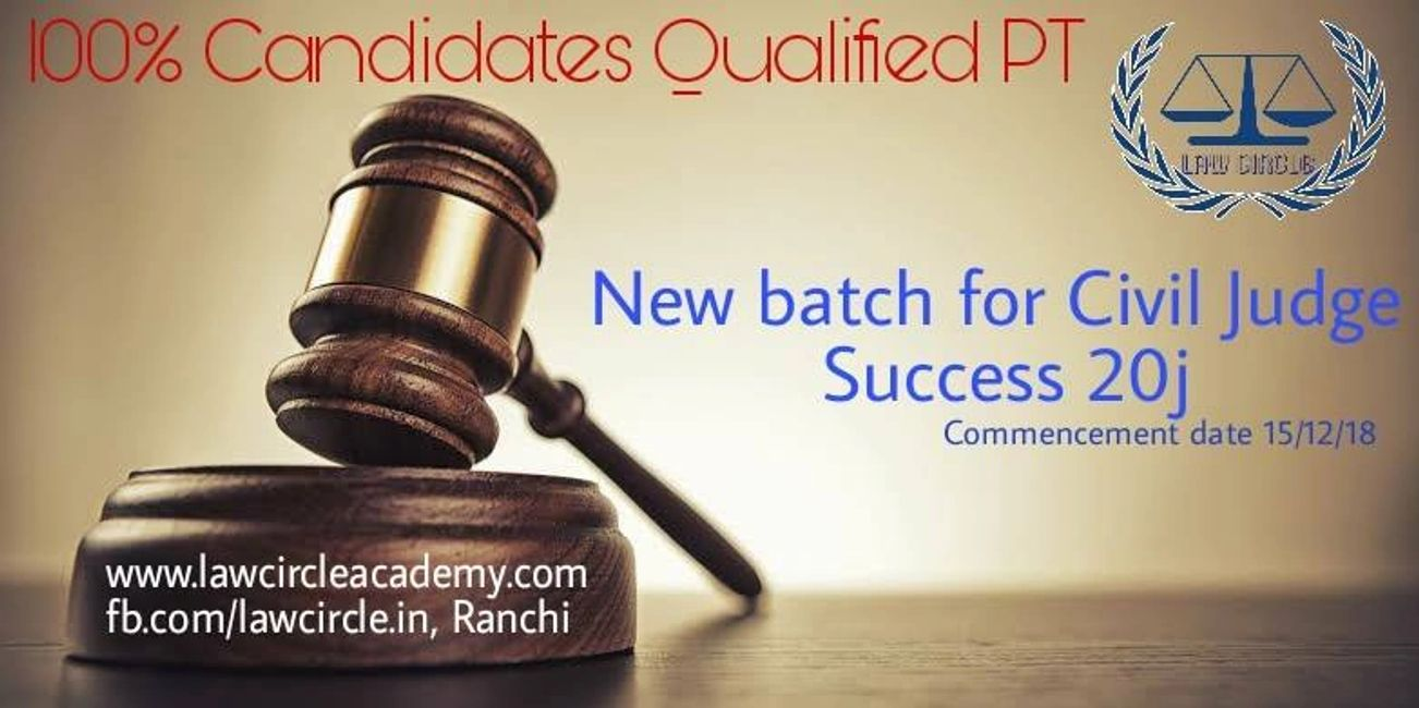 law classes in Ranchi