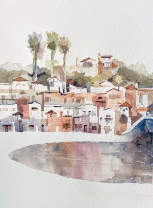 Colors of Capitola - Honorable Mention at Capitola's 5th Annual Plein Air Festival 2019