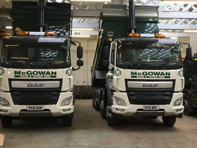 A selection of our Modern Tipper Hire Fleet
