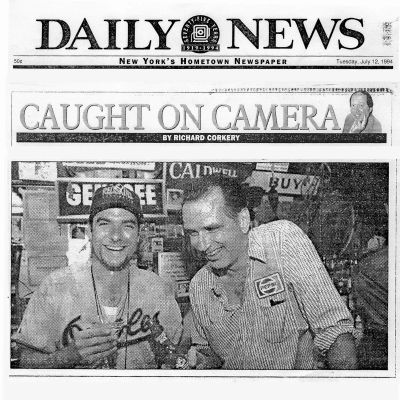 "Daily News feature on the production of ""Burnzy's Last Call"". Published July 2, 1994."