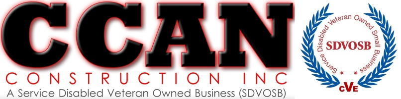 CCAN CCAN Construction Inc. A Service Disabled Veteran Owned Busi