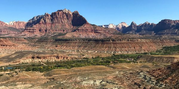 Luxury family vacation in Utah, Zion National Park, luxury getaway Utah, Amangiri, hike bike Utah