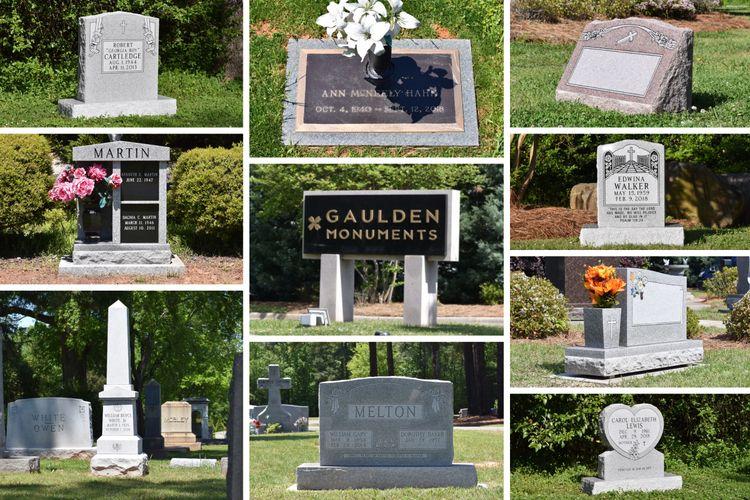 Gaulden Monuments Monuments Memorials Headstones