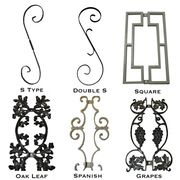 Ornaments for metal railing.  Ornaments for aluminum railing.