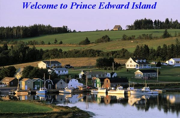 beautiful fishing village, PEI, Canada
