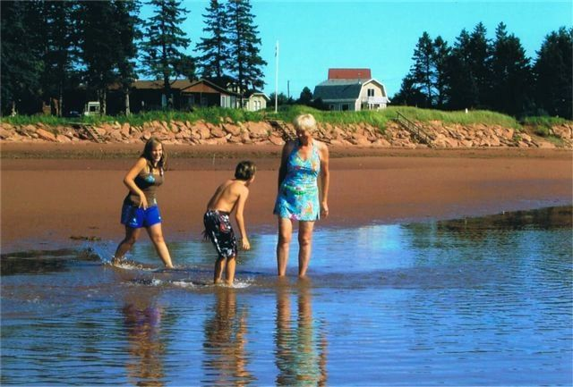 warm waters of the south shore pei