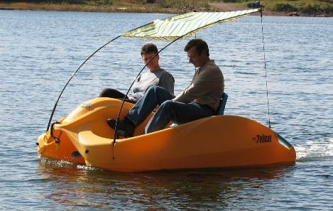 Free Use of Pedal Boat