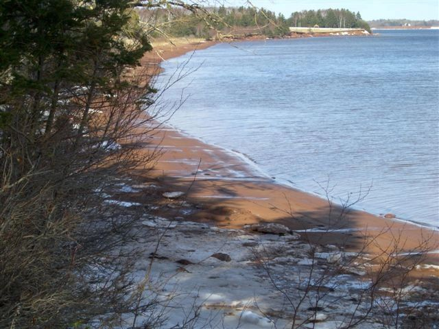 Unspoiled Sandy Beaches of Prince Edward Island in the Winter