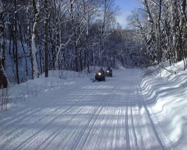snowmobiling sledding pei