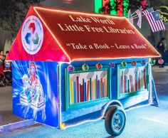 Little Free Libraries Award Winning Float