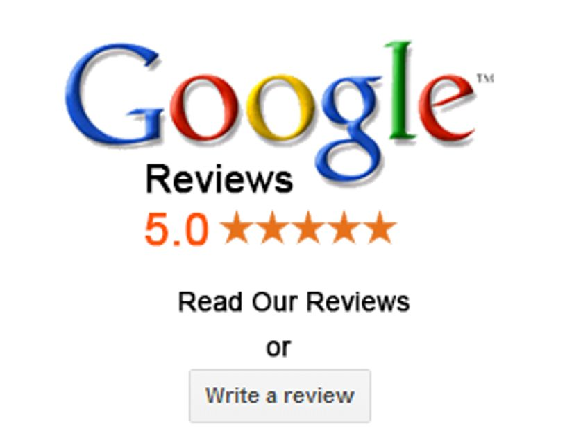 We have a 5 Star Google Rating!