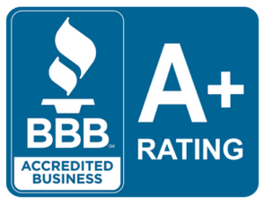 We are a BBB A+ accredited business!