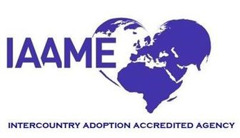 Agape Adoptions is accredited by IAAME