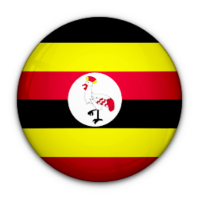 Flag of the country of Uganda