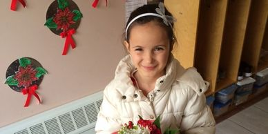 Girl adopted from Bulgaria by single parent with Agape Adoptions international adoption agency
