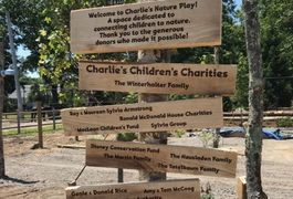 Signage at the Buttonwood Park Zoo.