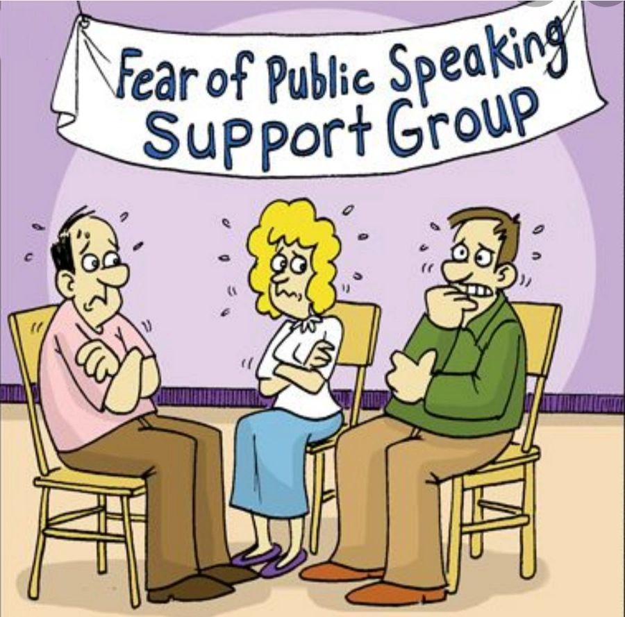 Fear of Public Speaking, St. Pete Beach, Florida.