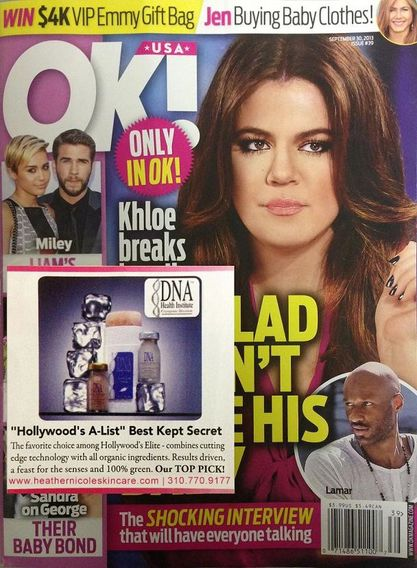 Heather Nicole Skincare in OK! Magazine