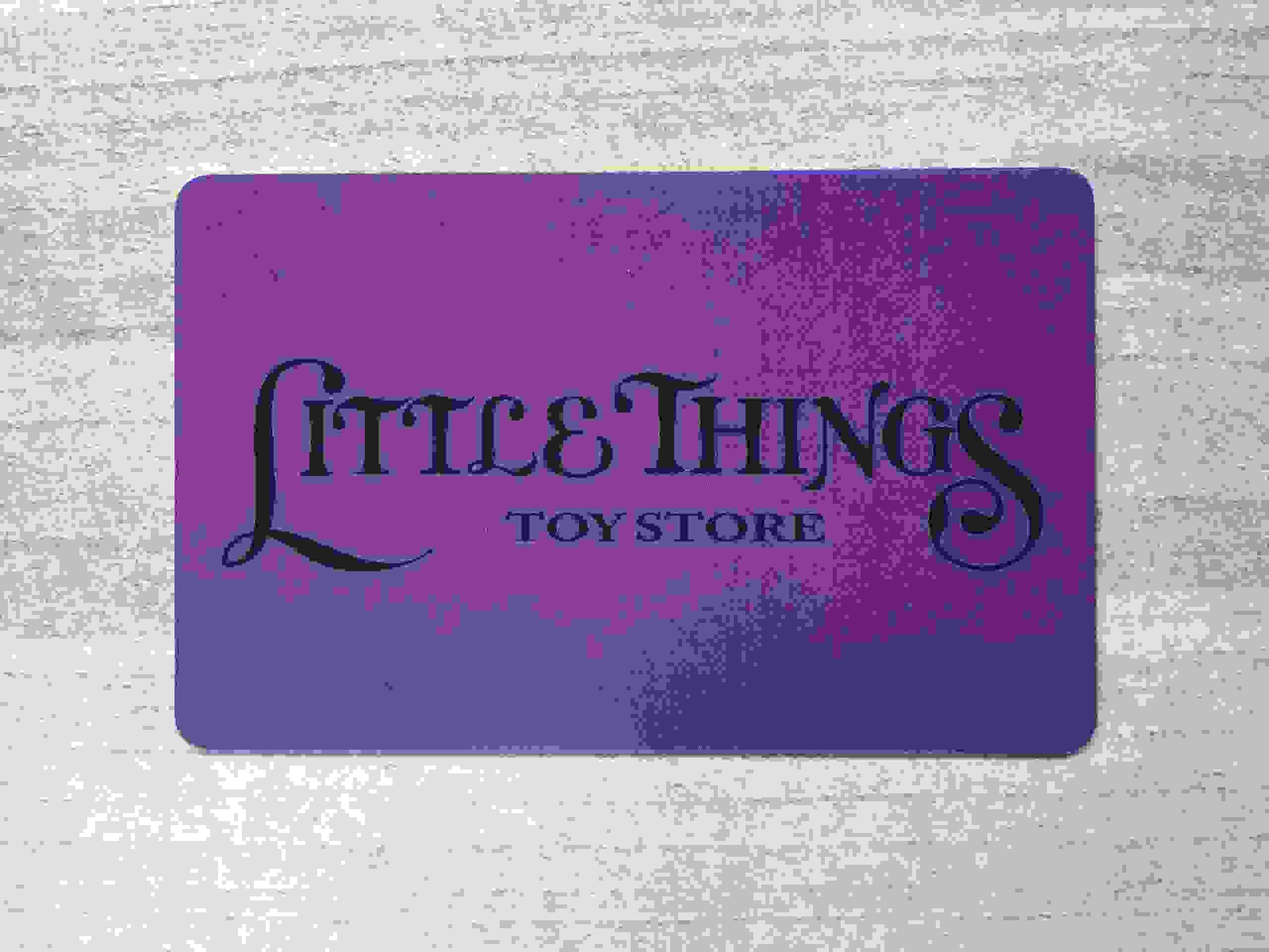 Give the gift of Little Things with our fabulous gift cards!