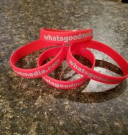 If You Love Keeping Up With Whats Good Media Support Us By Buying Our Wristbands. Thank You