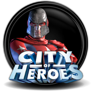 City of Heroes logo.