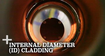 internal diameter cladding for extrusion barrels