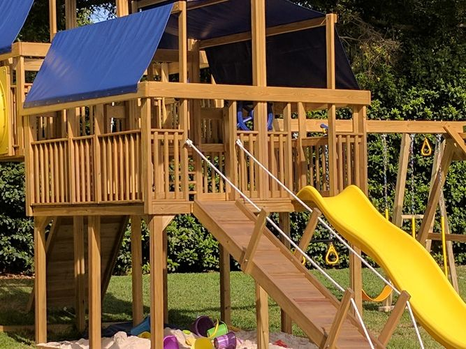 play tampa bay, playsets, swingsets, play nation, tampa, st petersburg, wood play, playground king
