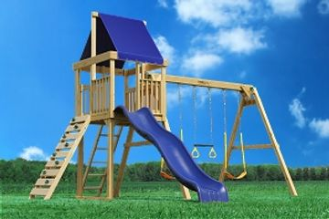 playset, swingset, fort, slide