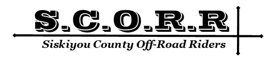 S.C.O.R.R. Siskiyou County  Off-Road Riders